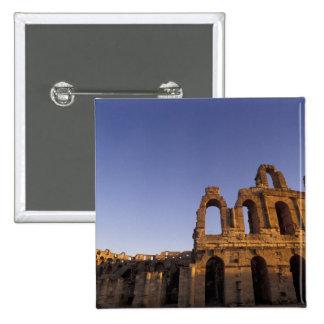 Africa, Tunisia, El Jem. Ruins of a Roman 2 15 Cm Square Badge