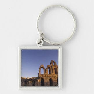 Africa, Tunisia, El Jem. Ruins of a Roman 2 Key Ring