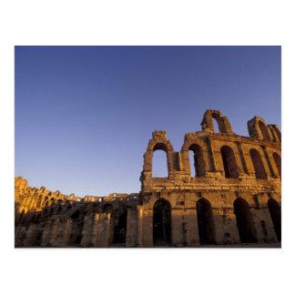 Africa, Tunisia, El Jem. Ruins of a Roman 2 Postcard