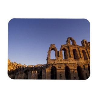 Africa, Tunisia, El Jem. Ruins of a Roman 2 Rectangular Magnets