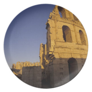 Africa, Tunisia, El Jem. Ruins of a Roman Dinner Plates