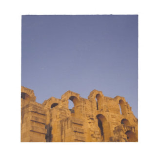 Africa, Tunisia,  El Jem. Ruins of a Roman Notepad