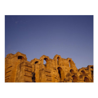 Africa, Tunisia,  El Jem. Ruins of a Roman Postcard