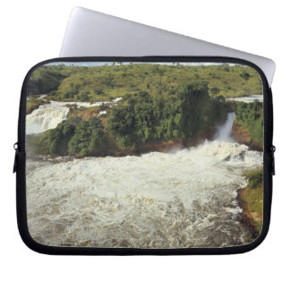Africa, Uganda, Murchison Falls NP. The frothy Laptop Sleeve