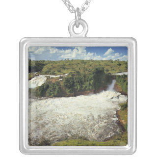 Africa, Uganda, Murchison Falls NP. The frothy Silver Plated Necklace