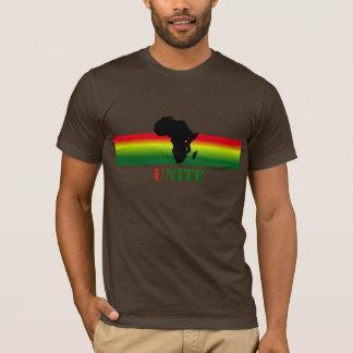 AFRICA unite custom t shirt