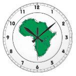 Africa Wallclock