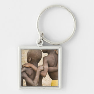 Africa, West Africa, Ghana, Yendi. Close-up shot Key Ring