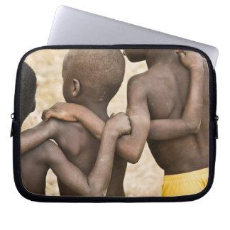 Africa, West Africa, Ghana, Yendi. Close-up shot Laptop Sleeve