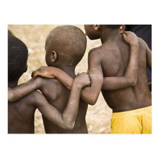Africa, West Africa, Ghana, Yendi. Close-up shot Postcard
