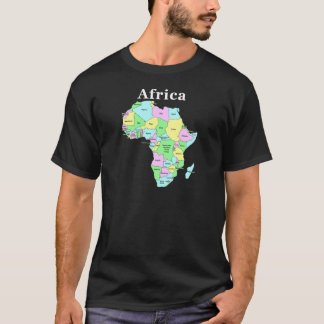 Africa - (White text for dark items) T-Shirt