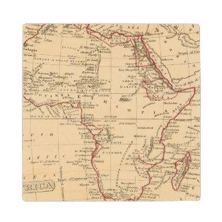 Africa Wood Coaster