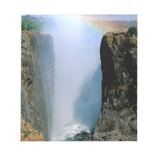 Africa, Zambia, Victoria Falls National Park. Notepad