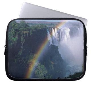 Africa, Zimbabwe. Victoria Falls Laptop Sleeve