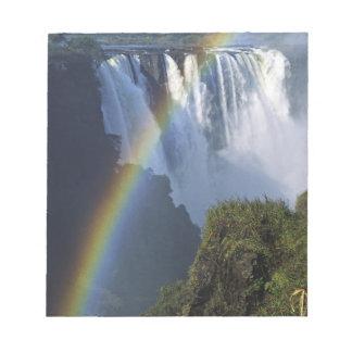 Africa, Zimbabwe, Victoria Falls Notepad