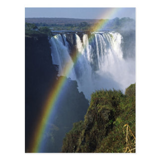 Africa Zimbabwe Victoria Falls Post Card