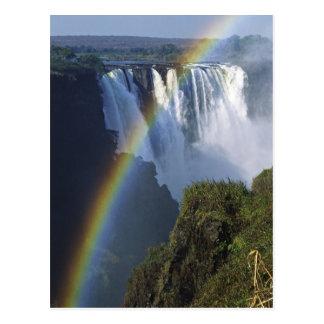Africa, Zimbabwe, Victoria Falls Postcard