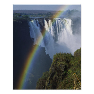 Africa, Zimbabwe, Victoria Falls Poster