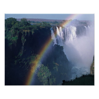 Africa, Zimbabwe. Victoria Falls Poster