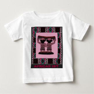 African 1st - Tribal effigy - Aftrican Art Tshirt