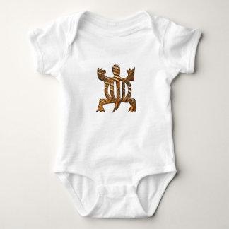 African Adinkra simbol of adaptability. Baby Bodysuit