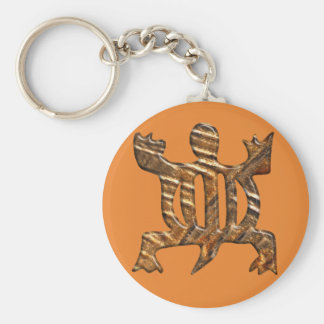 African Adinkra simbol of adaptability. Key Ring