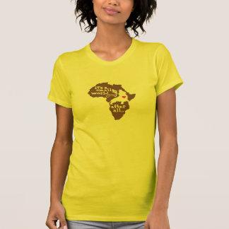 African Adoption Small World Tee Shirt