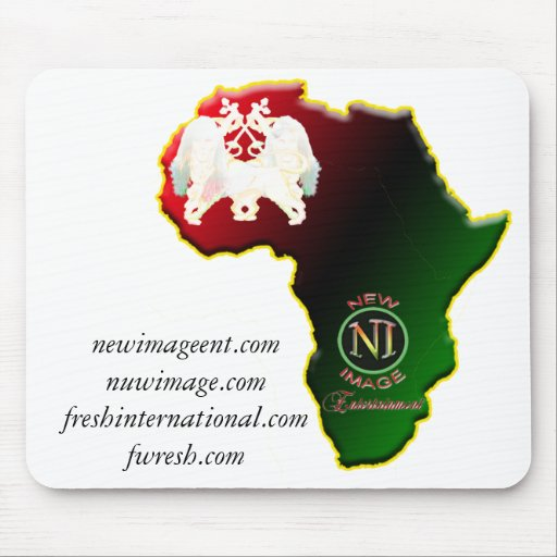 african,africa,jam, newimageent.co... - Customized Mouse Mats