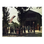 African American 4th of July celebration Postcard