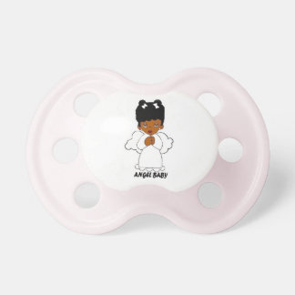 African American  Angel Baby Pacifiers