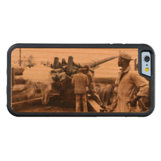 African American Artillerymen WWII Carved® Cherry iPhone 6 Bumper