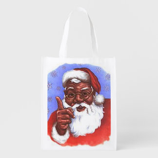 African American Black Santa Claus Christmas