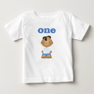 African American Boy 1 Baby T-Shirt