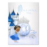 African American Cinderella Princess Birthday 11 Cm X 16 Cm Invitation Card
