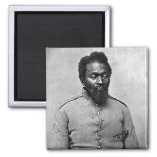 African American Civil War Soldier, 1861 Magnet