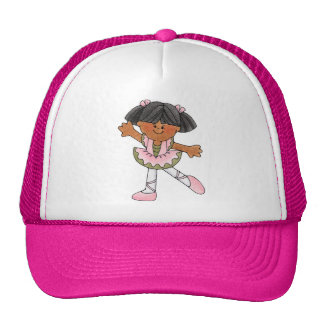 African American Dancing Girl Cap