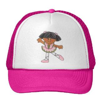 African American Dancing Girl Trucker Hat