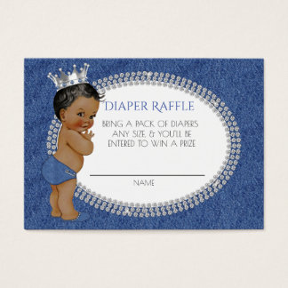 African American Denim & Diamonds Diaper Raffle