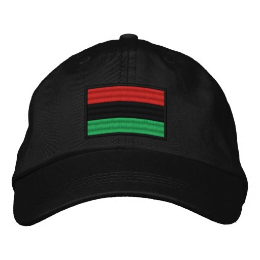 African American Embroidered Hat