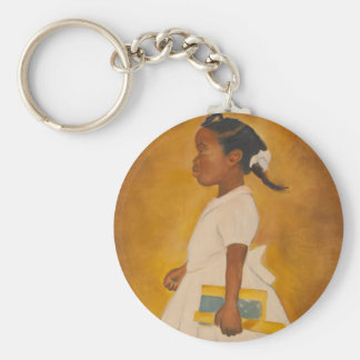 African American Fine Art Key Ring
