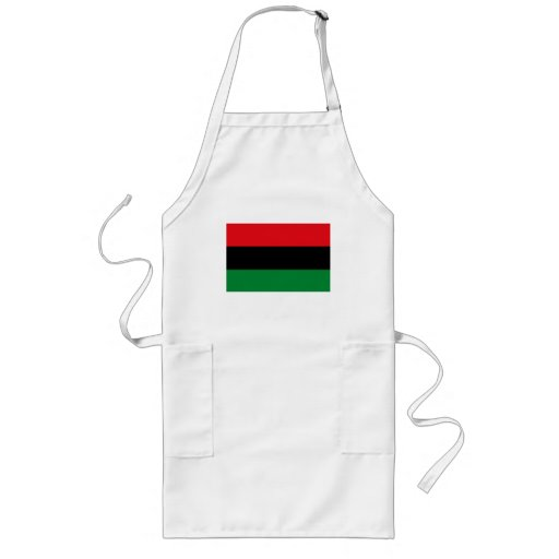 African American Flag Apron