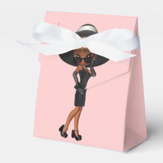 African American Fun Favorite Diva Birthday Party Wedding Favour Box
