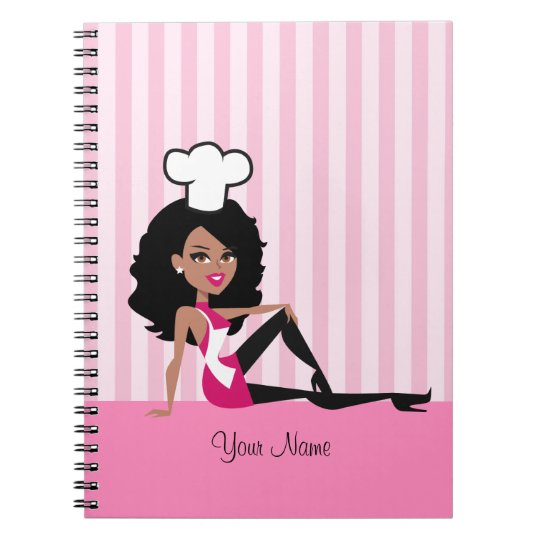 African American Girl Culinary Notebook