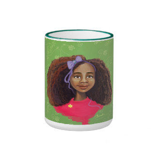 African American girl portrait Mug