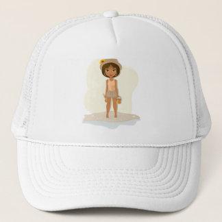African American Girl Trucker Hat