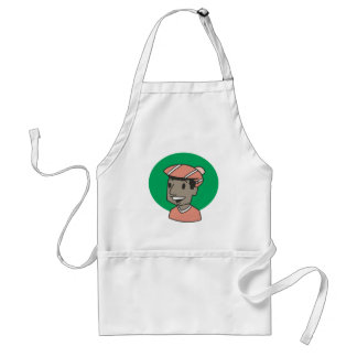 African American Golfer Aprons