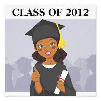 African American Graduate Announcements