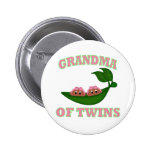 African American Grandma to Twins Button
