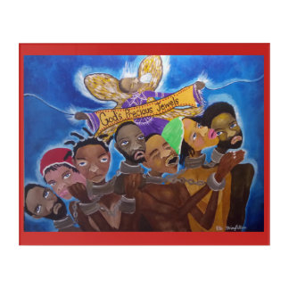 African American - Hebrews - God's Precious Jewels Acrylic Wall Art