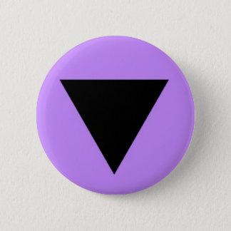 African American Lesbian Symbol Pinback 6 Cm Round Badge